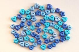 Acryl mix in 3 kleuren blauw (AC-012-HG)