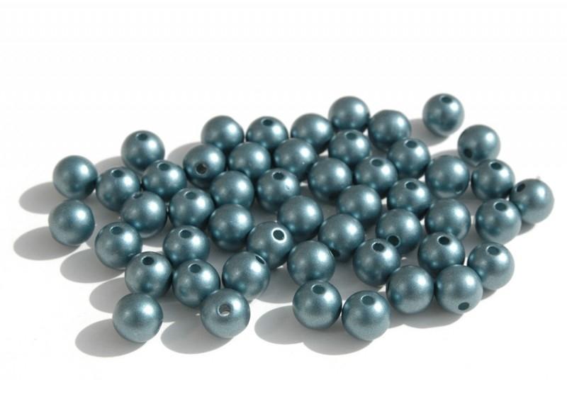 Kunststof parels in blauwgrijs 1 cm (P-115-SF)