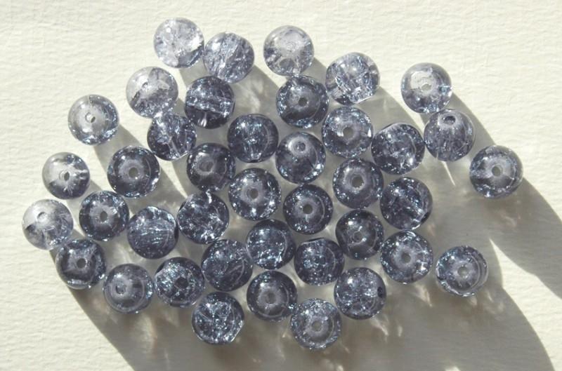 Crackles in grijsblauw 8 mm (CR-032-PH)