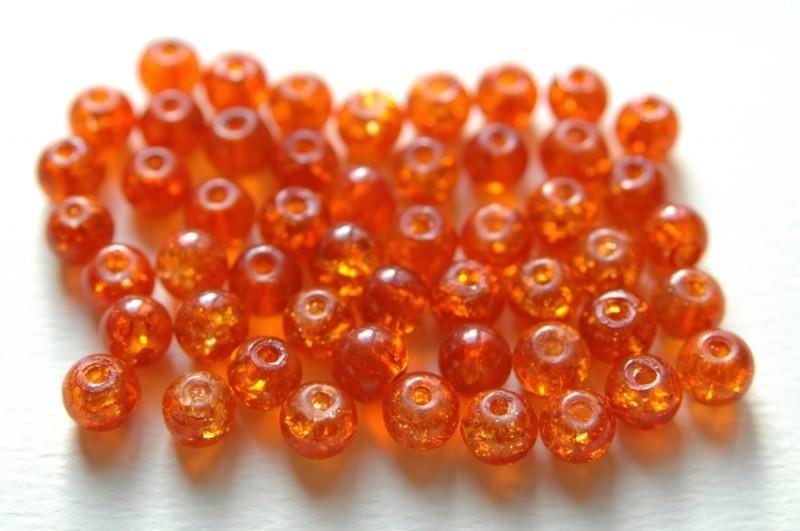 Crackles in oranje 6 mm (CR-020-PH)