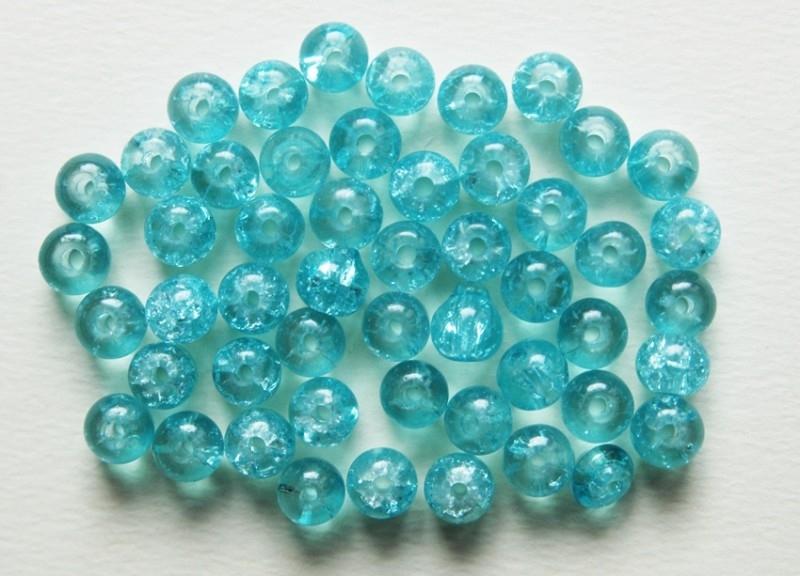 Crackles in licht zeegroen 6 mm (CR-021-KD)