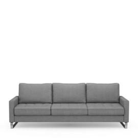 West Houston Sofa 3,5 seater, washed cotton, grey Riviera Masion 3904002