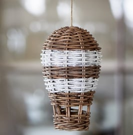 Rustic Rattan Hot Air Balloon Riviera Maison 341910