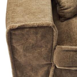 Metropolis Sofa 3,5 seater, velvet, clay Riviera Maison 4028005