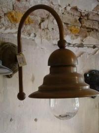 Ceggia buiten/wandlamp (koper) Frezoli