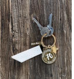 70 Years Of Happiness Key Hanger Riviera Maison 403550