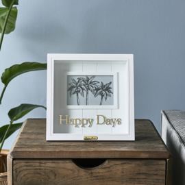 Happy Days Photo Frame 15x10 Riviera Maison 480290