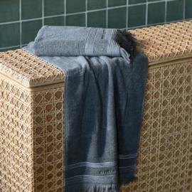 Serene anthracite Towel  100x50 Riviera Maison 482110