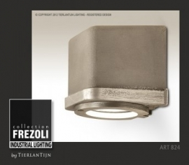 Sizz Alu Wandlamp in aluminium, voor buiten en binnen Frezoli
