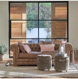 Crescent Avenue Sofa 3 seater, pellini, espresso Riviera Maison 3867004
