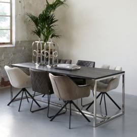 Frisco Drive Dining Armchair, pellini, espresso Riviera Maison  4111003