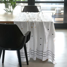 RM Dots & Stripes Table Cloth 270x150 Riviera Maison 464610