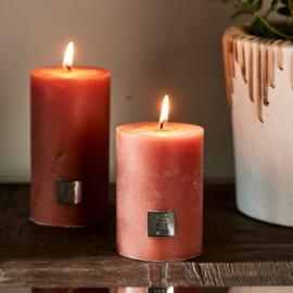 Rustic Candle apricot 7 x 10 Riviera Maison 451350