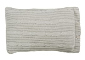 Rivièra Maison Winter Knit cushion Grey 30 x 50 (incl.vulling) 176253