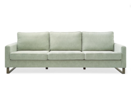 West Houston Sofa 3,5 seater, polyester-polyacryl, mint Riviera Maison 3903001