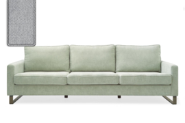 West Houston Sofa 3,5 seater, polyester-polyacryl, platinum Riviera Maison 3903003