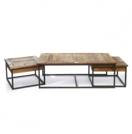 Shelter Island Coffee Table set Riviera Maison 292510