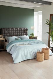 Riviera Maison dekbedovertrek Pleaty Green 240x200/220