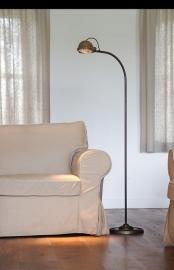 Lupia vloerlamp koper tierlantijn