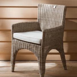 the Hamptons Rustic Rattan Dining chair Riviera Maison 172320