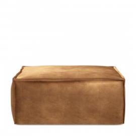 The Jagger Hocker, velvet, cognac Riviera Maison 4225003
