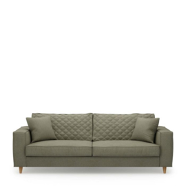 Kendall Sofa 3,5 Seater, oxford weave, forest green Riviera Maison 4345003