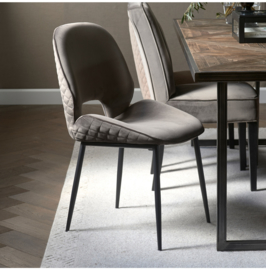 Mr. Beekman Dining Chair, velvet III, anthracite Riviera Maison 4928003