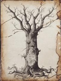 T 125 Medieval Tree of Life Sid Dickens tegel bij Jolijt