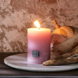 Rustic Candle faded pink 7 x 10 Riviera Maison 437570