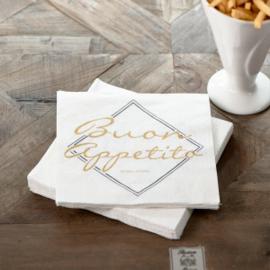 Paper Napkin Buon Appetito Riviera Maison 467150