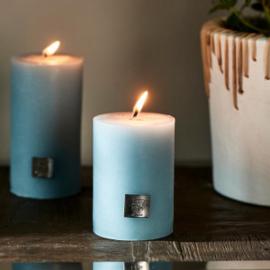 Rustic Candle caribbean blue 7 x 10 Riviera Maison 451390