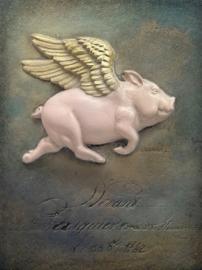 Sid Dickens tegel When Pigs Fly T534