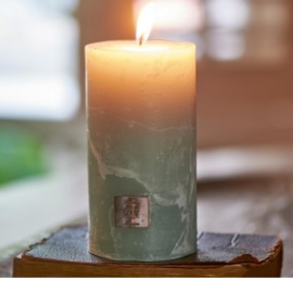 Rustic Candle olive green 7x13 Riviera Maison 316140