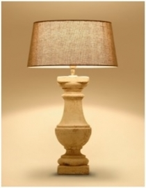 Assisi Tafellamp Tierlantijn bij Jolijt (exclusief kap)