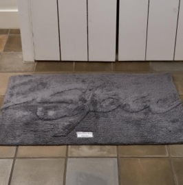 Bath Mat Spa anthracite Riviera Maison 324250.