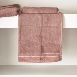 RM Elegant plum Guest Towel 50x30 Riviera Maison 466960