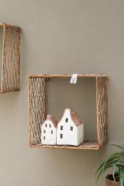 Rustic Rattan Wall Shelf M Riviera Maison 415750