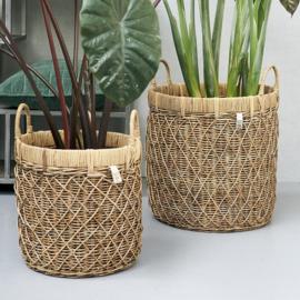 RR Diamond Weave Basket set van 2 Riviera Maison 426540
