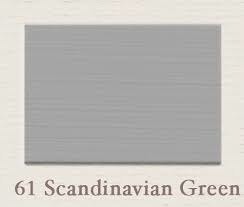 SALE Proefpotje 61 Scandinavian Green Painting the Past