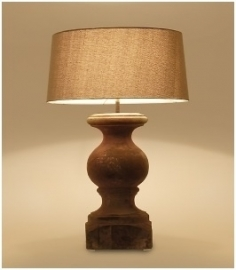 Verona tafellamp Tierlantijn bij Jolijt (exclusief kap)