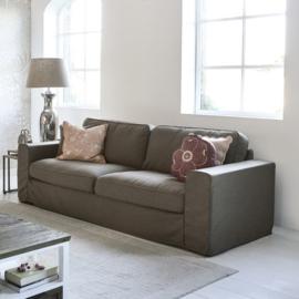 Selana Sofa 3,5 Seater, linen, taupe Riviera Maison 5578003