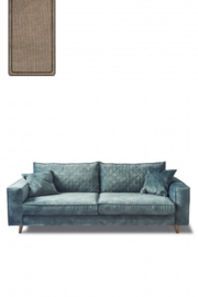 Kendall Sofa 2,5 Seater, cotton, natural,Riviera Maison 4228001
