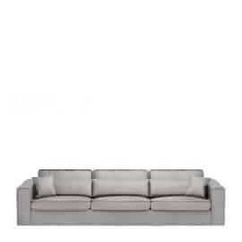 Metropolis Sofa XL, velvet, platinum Riviera Maison 4032003