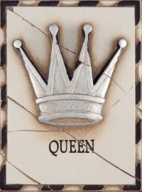 T 025  Queen (Silver)  Sid Dickens tegel bij Jolijt