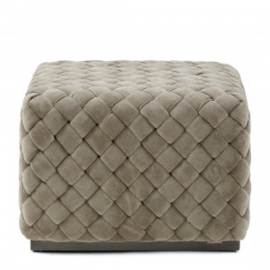 Room 48 Hocker, fine tweed, pebbles Riviera Maison 5021001