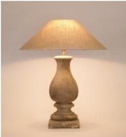 Gali Tierlantijn Balusterlamp (inclusief kap)
