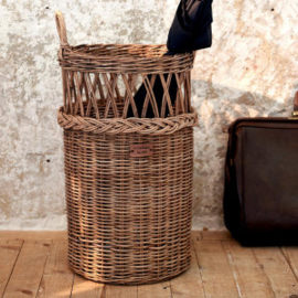Rustic Rattan Umbrella Country Basket Riviera Maison 426530