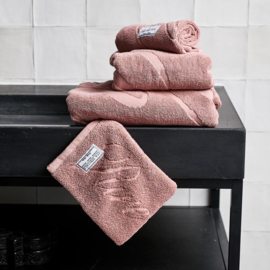 Spa Specials Wash Cloth pink Riviera Maison 451750.