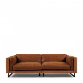 Biltmore Sofa 3,5 Seater, leather, cognac Riviera Maison 5033001