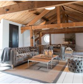 Ocean Park Sofa 3,5 Seater, velvet, slate grey Riviera Maiso 4171001